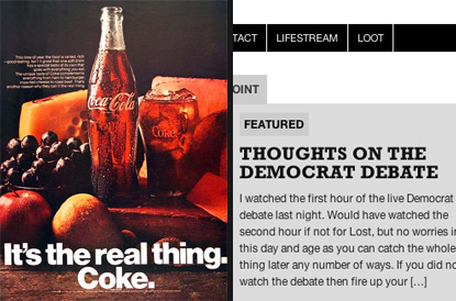 Coke. The Real Thing.