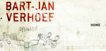 The logo of one Bert-Jan Verhoef